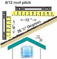 Nice 6/12 Roof Pitch Information