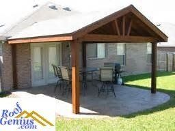 porch roof pitch features