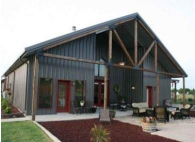 """Most metal building fabricated a manufacturing """"roof"""""""