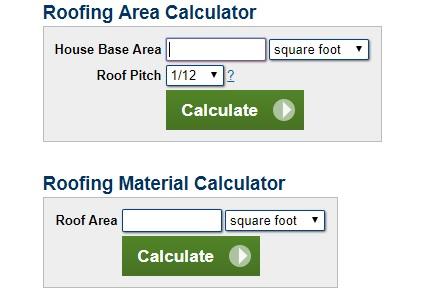 ROOF CALCULATOR estimate